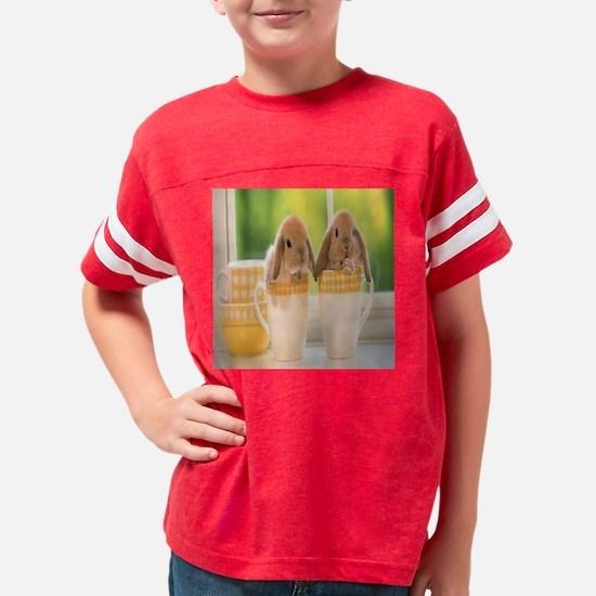 bunny cups Youth Football Shirt