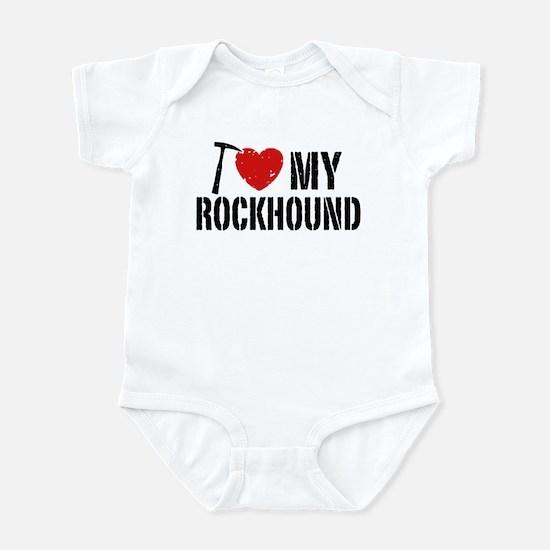 I Love My Rockhound Infant Bodysuit