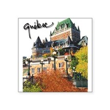 Frontenac Castle with Signatu Sticker (Rectangular