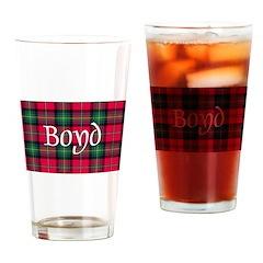 Tartan - Boyd Drinking Glass