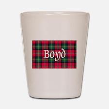 Tartan - Boyd Shot Glass