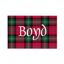 Tartan - Boyd Rectangle Magnet