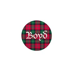 Tartan - Boyd Mini Button