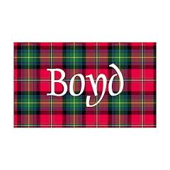 Tartan - Boyd Wall Decal