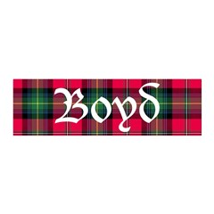 Tartan - Boyd Wall Decal