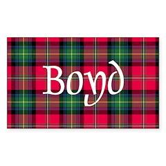 Tartan - Boyd Decal
