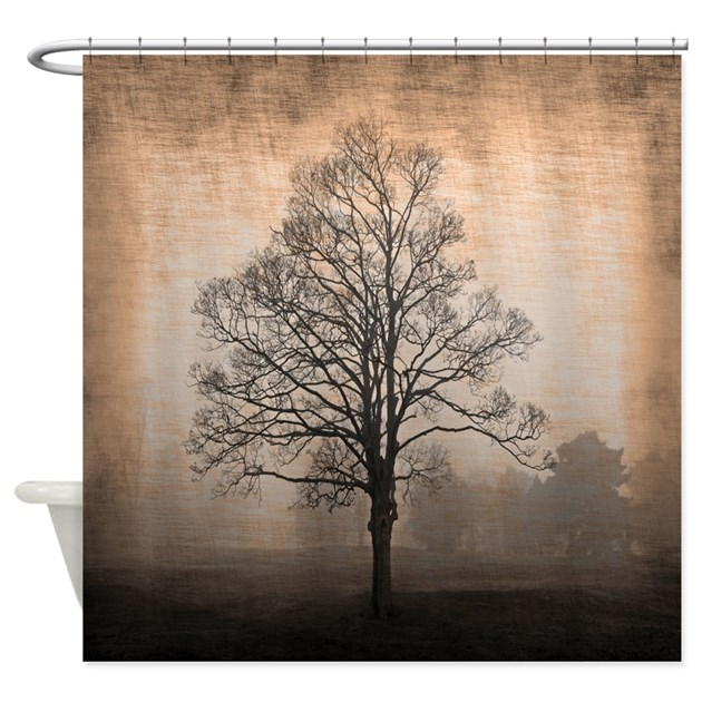 Abandoned Tree Shower Curtain By Walela