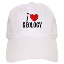 I Love Geology Baseball Cap