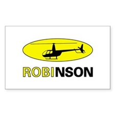 Robinson Rectangle Decal