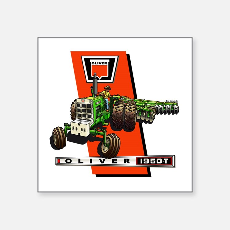 Oliver Tractor Decals : Oliver tractor bumper stickers car decals more
