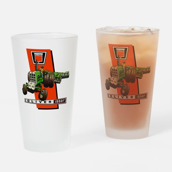 Oliver 1950-T Tractor Drinking Glass
