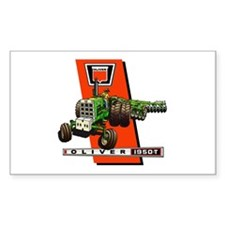 Oliver 1950-T Tractor Decal