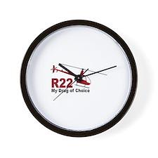 Drug of Choice Wall Clock