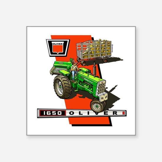 Oliver 1650 Tractor Sticker
