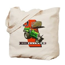 Oliver 1650 Tractor Tote Bag
