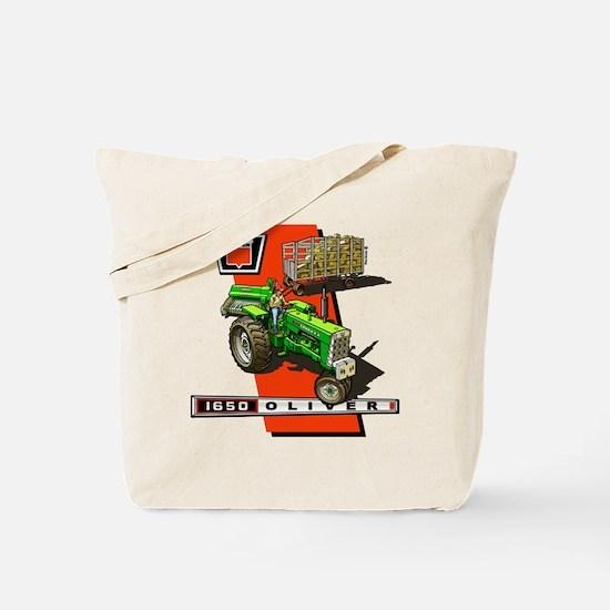 Oliver 1650 Tractor Tote Bag