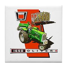 Oliver 1650 Tractor Tile Coaster