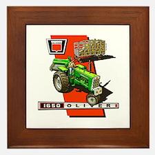 Oliver 1650 Tractor Framed Tile