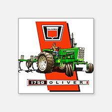 Oliver 1750 Tractor Sticker