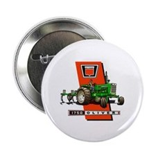 "Oliver 1750 Tractor 2.25"" Button"