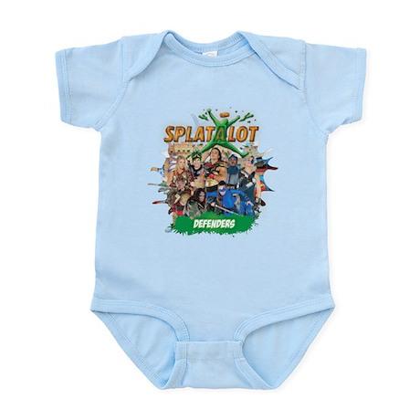 Splatalot 1 Defenders Infant Bodysuit