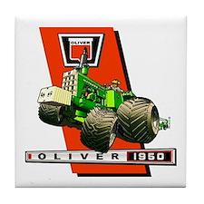 Oliver 1950 Tractor Tile Coaster
