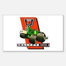 Oliver 1950 Tractor Decal