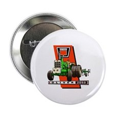 "Oliver 2050 Tractor 2.25"" Button"