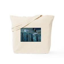 Resting Seagulls Tote Bag