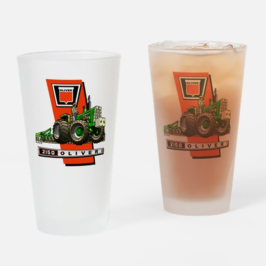 Oliver 2150 tractor Drinking Glass