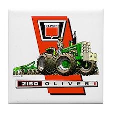 Oliver 2150 tractor Tile Coaster