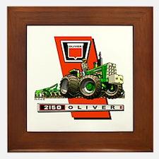 Oliver 2150 tractor Framed Tile