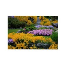 Gardens Color Explosion Rectangle Magnet