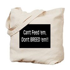 Anti-Breeding Tote Bag
