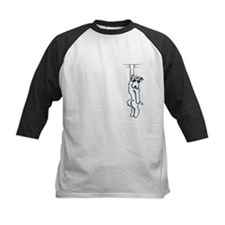 Clingy Sealyham Terrier Baseball Jersey