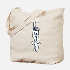 Clingy Sealyham Terrier Tote Bag