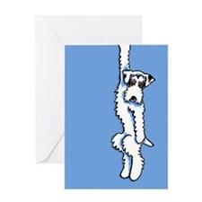 Clingy Sealyham Terrier Greeting Card