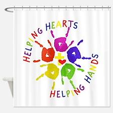Cool Nonprofit Shower Curtain