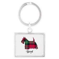 Terrier - Boyd Landscape Keychain