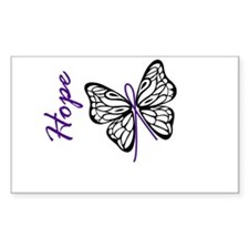 Hope Butterfly Decal