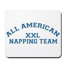 AA Napping Team Mousepad