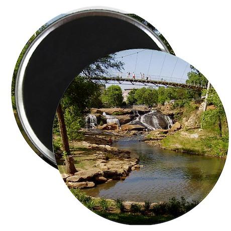 """Greenville Liberty Bridge 2.25"""" Magnet (10 pa"""