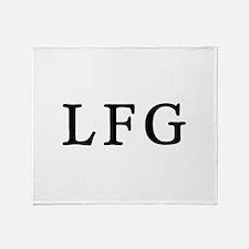 LFG Throw Blanket