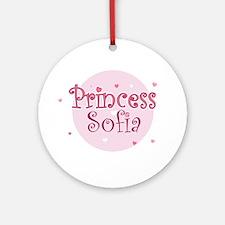 Sofia Ornament (Round)
