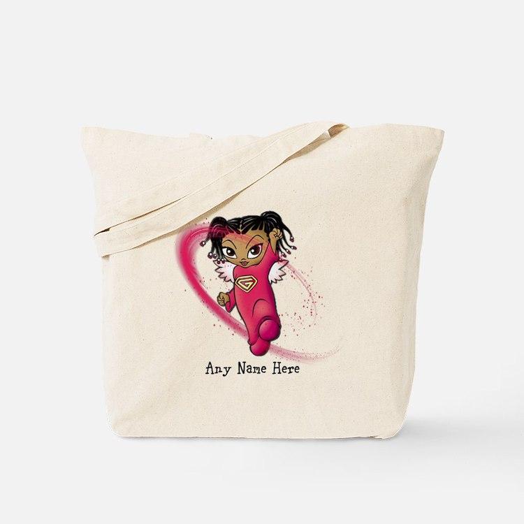 African American Angel Tote Bag
