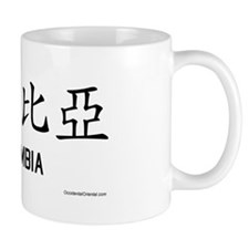 Colombia in Chinese Mug