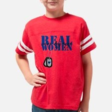 realwomendt Youth Football Shirt