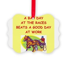 harness racing Ornament