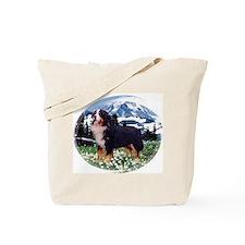 Bernese Mountain Dog Mug Tote Bag