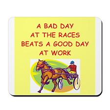 harness racing Mousepad
